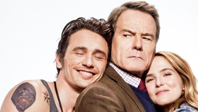 """Opening this Friday, """"Why Him?"""" pits Bryan Cranston against James Franco."""
