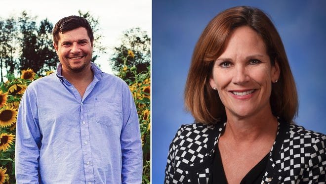 Incumbent State Rep. Mary Whiteford, R-Casco Township, right, will face a primary challenge from Allegan business owner Nevin Cooper-Keel during the Michigan statewide primary on Aug. 4.