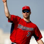 Twins pitchers work out on Friday.