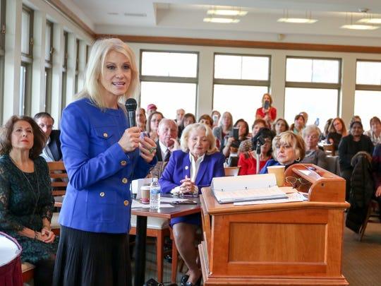 Kellyanne Conway talks tax reform to NJ Federation