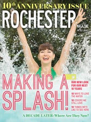 The July 2015 anniversary issue of Rochester Magazine