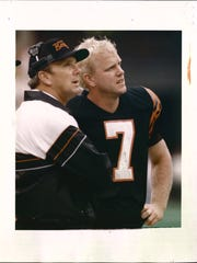DECEMBER 30, 1988: Cincinnati Bengals Coach Sam Wyche,