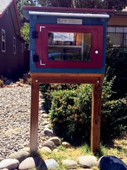 A book box similar to this one on the 1100 block of