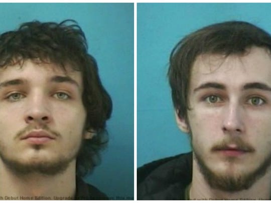 Miles Richardson Holt, left, and Jonathon Kyle Elliott were arrested and charged with criminal homicide in connection with the 2017 shooting death of Robert Ward, 43, of Nolensville.