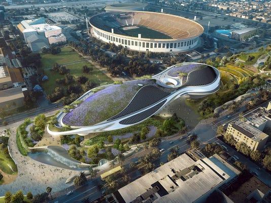 AP GEORGE LUCAS MUSEUM A ENT SPF F USA CA