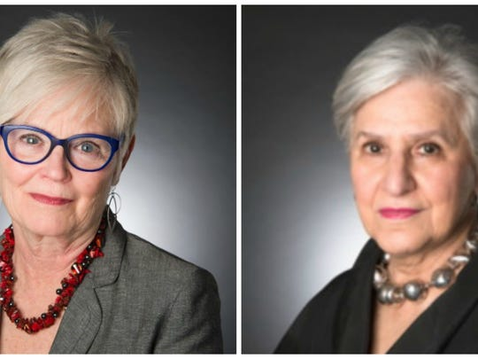 Anne Coon, left, and Judith Ann Feuerherm.