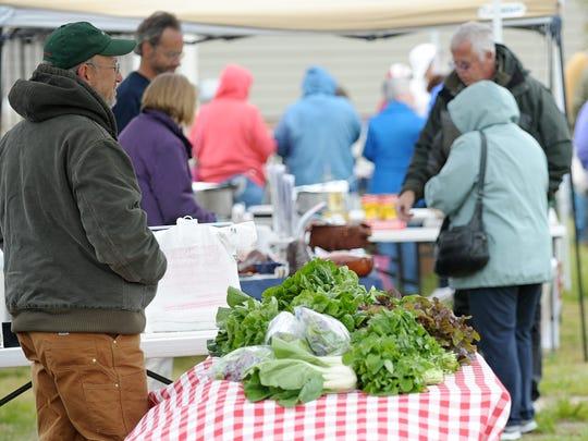 The Milton Farmers' Market opened for the season April 22.
