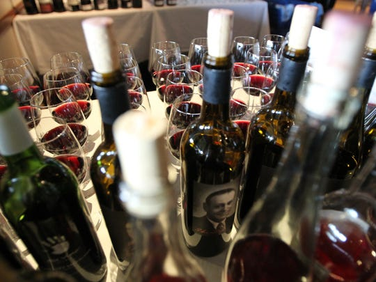 Over 200 wineries across the state entered The Arizona Republic Wine Competition at Tarbell's in Phoenix, Arizona on October 26, 2015.