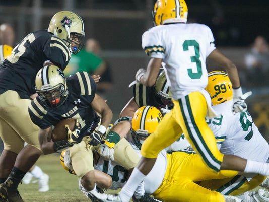 Cecilia vs New Iberia Senior High October 23, 2015
