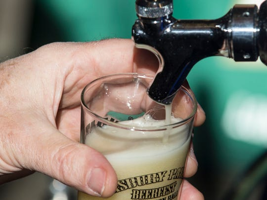 The Asbury Park Beerfest gets underway at Convention Hall on the boardwalk on Jan. 27.