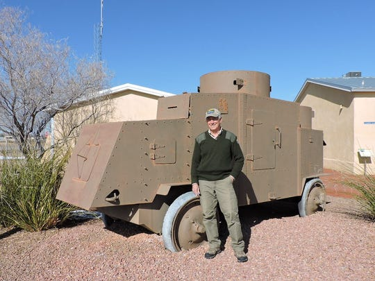 Pancho Villa State Park Manager John Read stands in