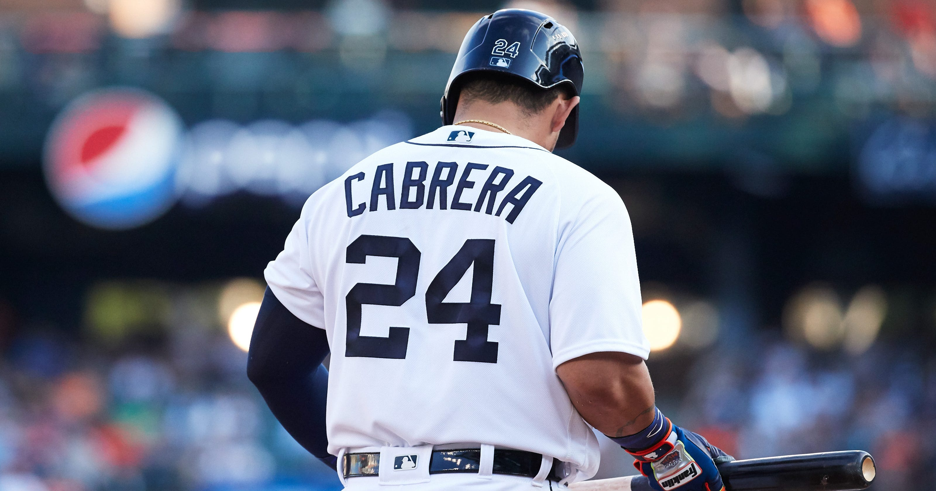 Hedendaags Detroit Tigers' Miguel Cabrera to miss rest of 2018 with biceps injury WO-49