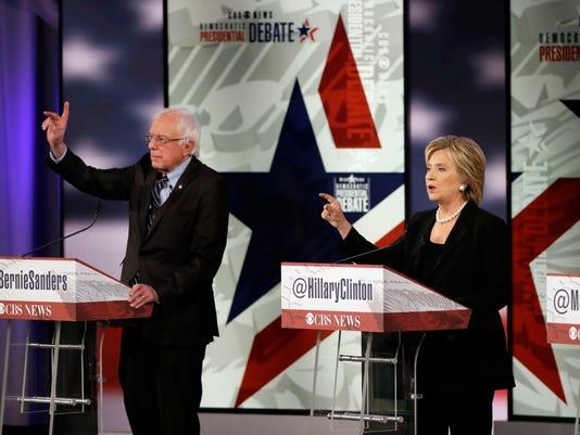 Hillary Rodham Clinton, Bernie Sanders