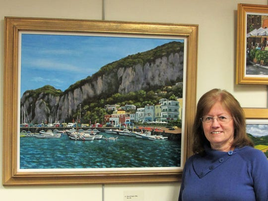 Florals and landscapes of Berkeley Heights artist Eileen