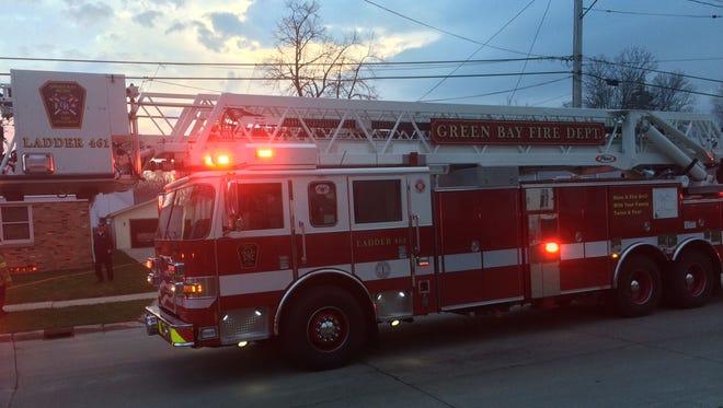 Green Bay Metro Fire Department fire truck