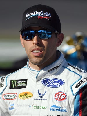 Aric Almirola could miss up to three months in the car after breaking his back in a crash at Kansas Speedway.