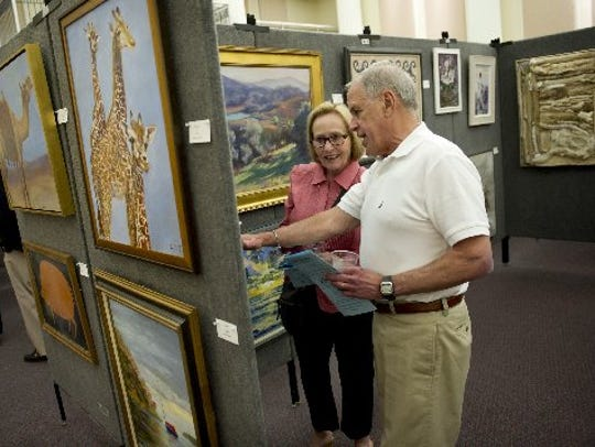 The Art by the Sea show is Friday through Sunday at