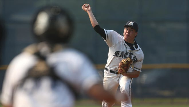 Maclay's J.D. Gardner was excellent in relief during an 11-2 win over St. Johns Country Day in a Region 1-3A semifinal.