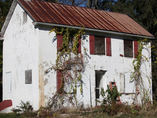 The Jester Farmhouse in Brandywine Hundred.  A non-profit group hopes to turn it into an arthouse.