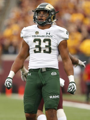 Former CSU linebacker Kevin Davis has signed with the Los Angeles Rams as an undrafted free agent.