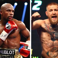 Floyd Mayweather doesn't care what Dana White says about Conor McGregor fight