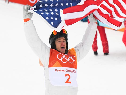 USP OLYMPICS: SNOWBOARD-MENS HALFPIPE FINAL S OLY KOR