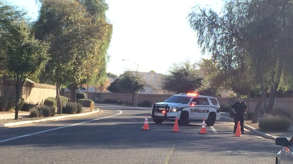 Glendale police are investing a Glendale school shooting.