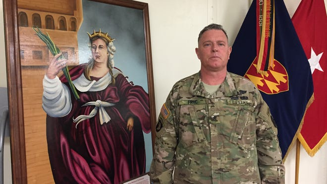 Brig. Gen. Don Fryc has commanded the 32nd Army Air and Missile Defense Command at Fort Bliss for the past 27 months. He relinquishes command on Friday and will transition to retirement.