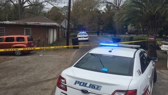 Tallahassee police officers are investigating a shooting Thursday morning at Dewey and Dover streets.