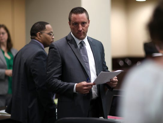 Nate Price, defense attorney for Henry Segura Jr. at