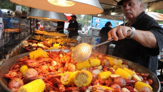 The Pensacola Seafood Festival returns for its 39th year Sept. 30 - Oct. 2.