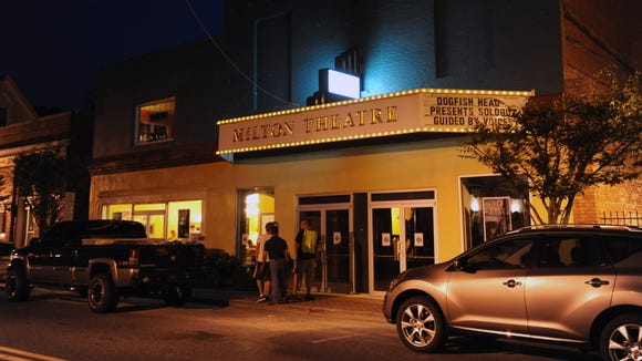 The Milton Theatre hosted Guided by Voices in August 2014.