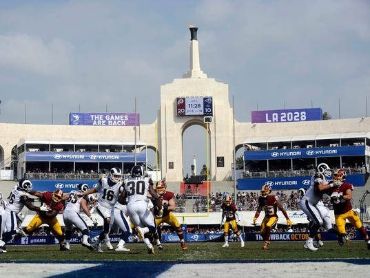 Todd Murillo >> Los Angeles officially 2-team NFL city with Rams, Chargers home games