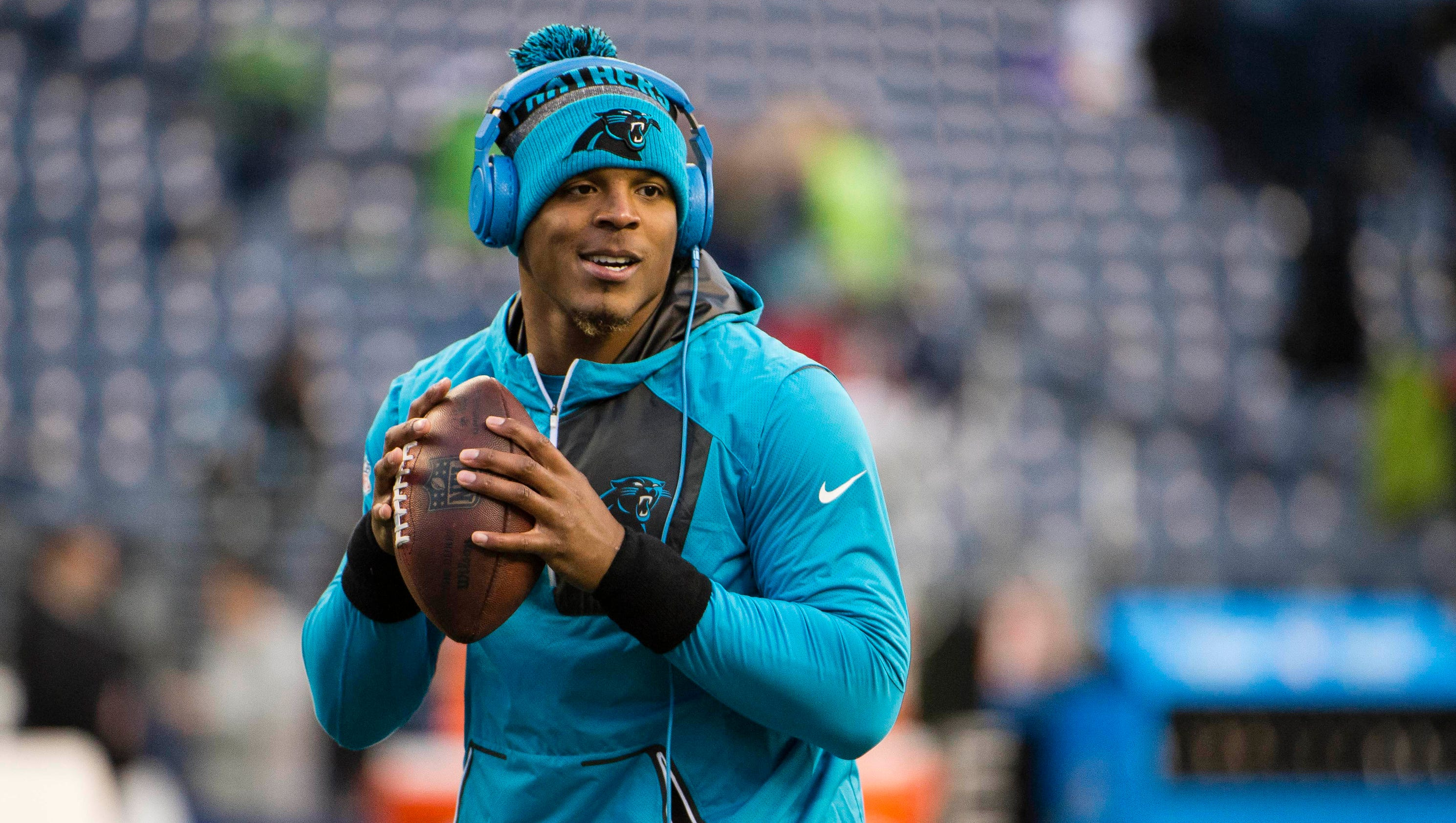 Panthers Bench Cam Newton For Dress Code Violation
