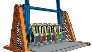 Knoebels Amusement Resort in Elysburg will open its new Over the Top ride in late spring or early summer.