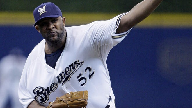 CC Sabathia was dominant in his half season with the Brewers, helping them clinch the 2008 wild card.