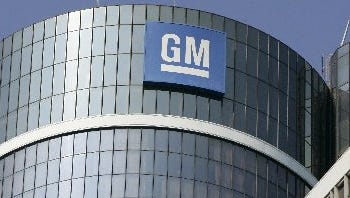 General Motors headquarters in Detroit.