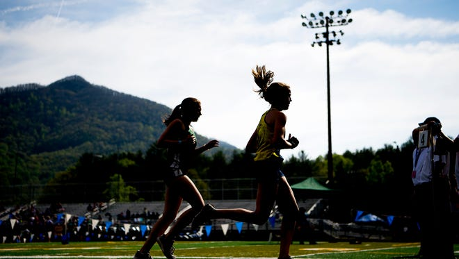 WNC track and field leaders.