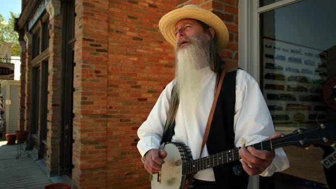 Neil Woodward will perform at 10:30 a.m. Aug. 11 at the Lansing Eastside Folk Festival.