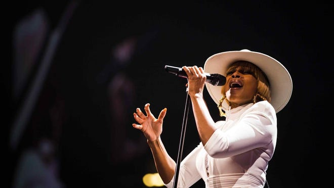 Tickets go on sale Friday for Mary J. Blige at the DTE Energy Music Theatre July 28.