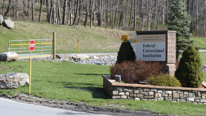 The Federal Corrections Institution at Otisville on Friday.