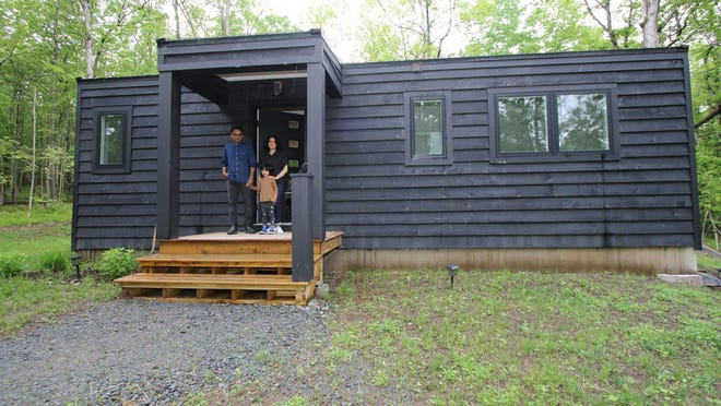 Hemant Anant Jain, an advertising copywriter and artist from Manhattan, bought a newly built home with just 815 square feet and two bedrooms in Sullivan County in August, a country getaway where he and his wife never expected to live full time.