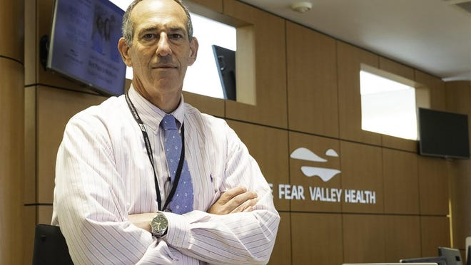 Dr. Sam Fleishman is chief medical officer for Cape Fear Valley Health.