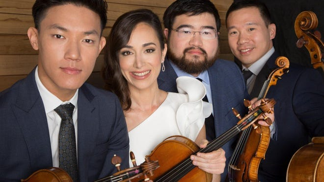 The Parker Quartet provided masterful interpretations of contemporary and classical works on Sunday at The Four Arts.