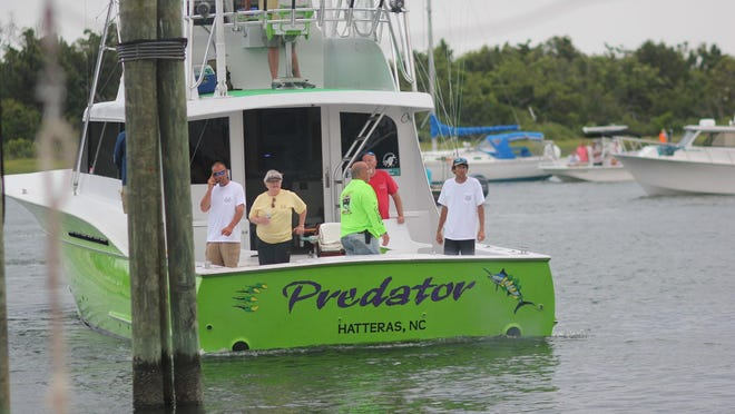 Predator remains the the leader the Big Rock Blue Marlin Tournament in Morehead City.