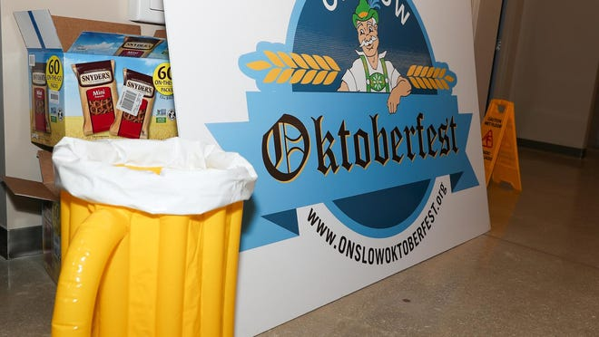 Oktoberfest kicked off this years events Thursday night at Sturgeon City with Cheers for Our Charities. The event included beer and wine tasting from Coastal Beverage. Proceeds benefit Onslow Community Outreach.