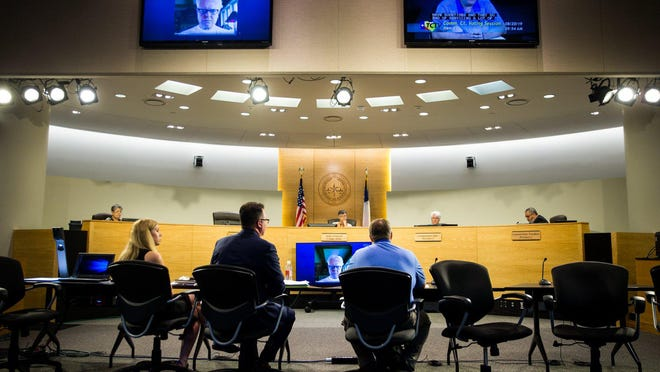 Testimony related to the budget for the 2020 fiscal year was given at the Travis County Commissioners Court in August 2019. Precinct chairs for the Democratic and Republican parties will vote on behalf of citizens Sunday to select the candidates who will run for Travis County judge in November.
