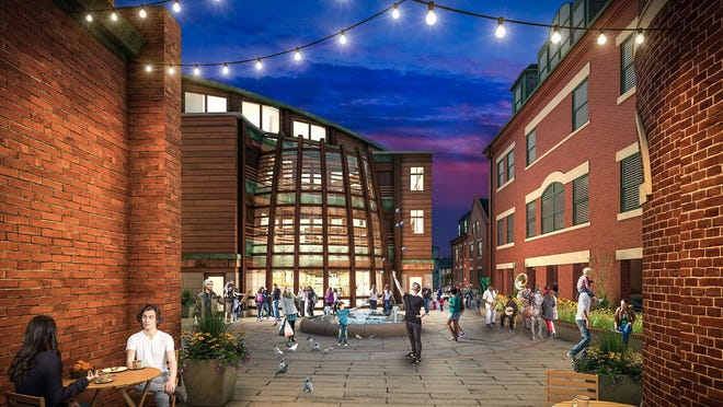 JSA Design is celebrating its 40th year, having changed its name to be more inclusive of its work in the community, including the Brick Market project in downtown Portsmouth.