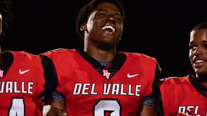 Del Valle running back Tavierre Dunlap had 220 yards rushing in a win over McNeil, including a 99-yard scoring run that helped seal the victory.