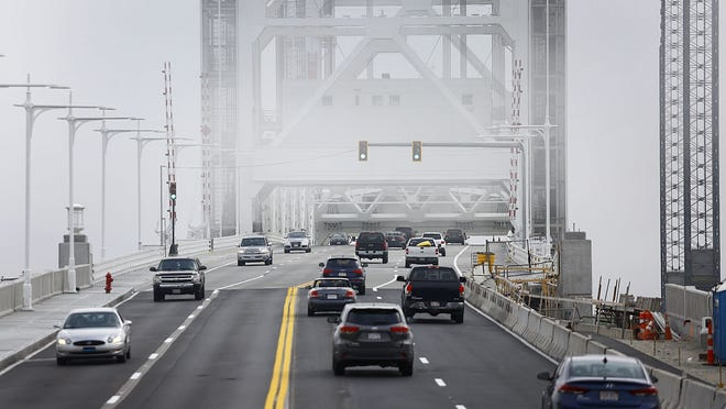 The new Fore River Bridge on  Sunday September 17, 2017. Greg Derr/The Patriot Ledger